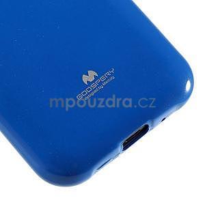 Modrý gélový obal na Samsung Galaxy J1 - 4