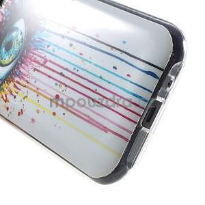 Gélový kryt pre Samsung Galaxy J1 - farebné oko - 4
