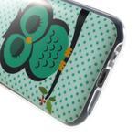 Gélový kryt pre Samsung Galaxy J1 - sova - 4/5