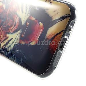 Gélový kryt na Samsung Galaxy J1 - tygr - 4