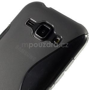 Šedý gélový s-line obal Samsung Galaxy J1 - 4