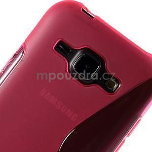 Rose gélový s-line obal Samsung Galaxy J1 - 4