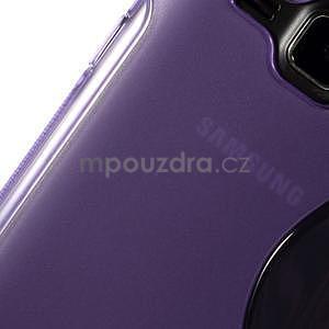 Fialový gélový s-line obal Samsung Galaxy J1 - 4