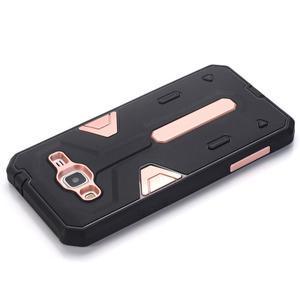 High outdoor odolný kryt na mobil Samsung Galaxy J3 (2016) - růžový - 4