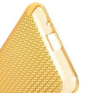 Diamond gélový obal pre mobil Samsung Galaxy J3 (2016) - zlatý - 4
