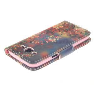 Standy peňaženkové puzdro pre Samsung Galaxy J5 - jesenné zátiší - 4
