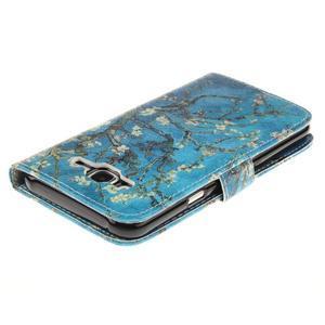 Standy peněženkové pouzdro na Samsung Galaxy J5 - kvetoucí strom - 4