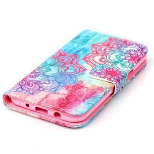Pictu peňaženkové puzdro pre Samsung Galaxy J5 - henna - 4