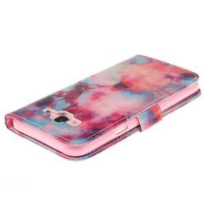 Standy peňaženkové puzdro pre Samsung Galaxy J5 - malba - 4