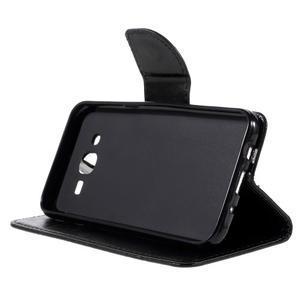 Peněženkové pouzdro na mobil Samsung Galaxy J5 - černé - 4