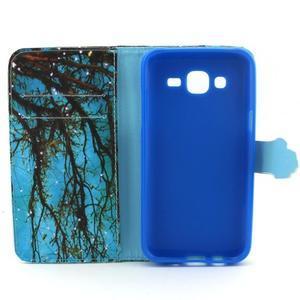 Knížkové puzdro pre mobil Samsung Galax J5 - strom - 4