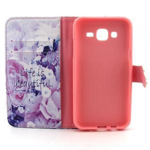 Knížkové pouzdro na mobil Samsung Galax J5 - life - 4