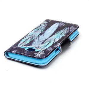 Emotive pouzdro na mobil Samsung Galaxy J5 - barevná peříčka - 4