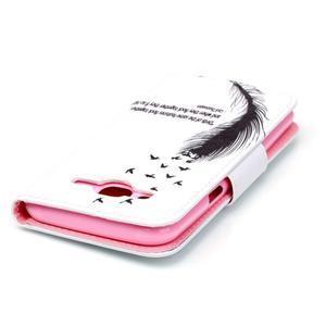 Emotive puzdro pre mobil Samsung Galaxy J5 - vtáčie pierko - 4