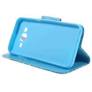 Dairy peněženkové pouzdro na Samsung Galaxy J5 - modrý slon - 4