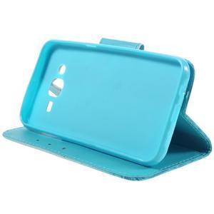 Dairy peňaženkové puzdro pre Samsung Galaxy J5 - vodní kvet - 4