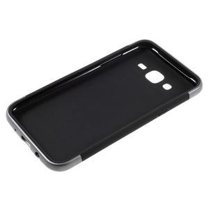 Odolný obal na mobil Samsung Galaxy J5 - šedý - 4