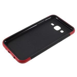 Odolný obal na mobil Samsung Galaxy J5 - červený - 4