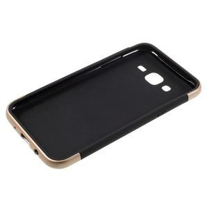 Odolný obal pre mobil Samsung Galaxy J5 - champagne - 4