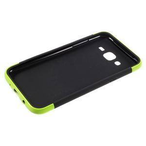 Odolný obal na mobil Samsung Galaxy J5 - zelený - 4