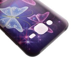 Jelly gelový obal na mobil Samsung Galaxy J5 - kouzelní motýlci - 4