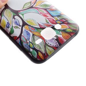 Jelly gélový obal pre mobil Samsung Galaxy J5 - malovaný strom - 4