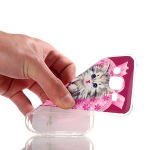 Softy gelový obal na mobil Samsung Galaxy J5 - koťátko - 4