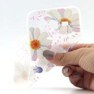 Ultratenký slim gelový obal na Samsung Galaxy J5 - sedmikrásky - 4