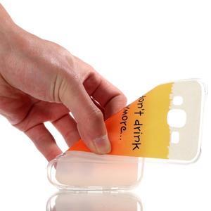 Softy gelový obal na mobil Samsung Galaxy J5 - drink - 4