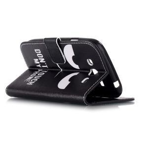 Pictu peňaženkové puzdro pre Samsung Galaxy J5 - nesiahat - 4