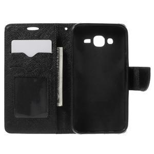 Crossy koženkové pouzdro na Samsung Galaxy J5 - černé - 4