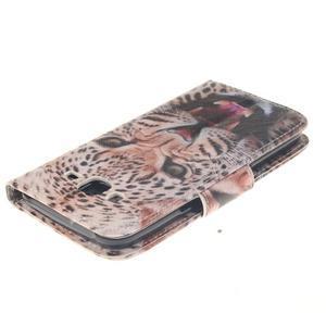 Standy peněženkové pouzdro na Samsung Galaxy J5 - leopard - 4