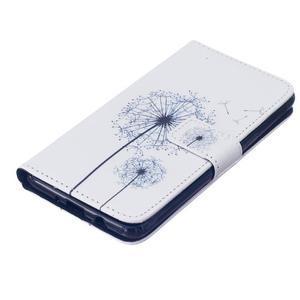 Knížkové pouzdro na mobil Samsung Galaxy J5 (2016) - pampelišky - 4