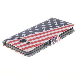 Style peněženkové pouzdro na Samsung Galaxy J5 (2016) - US vlajka - 4