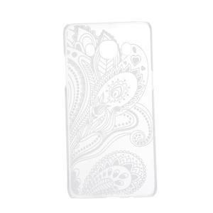 Transparentní plastový obal na Samsung Galaxy J5 (2016) - henna - 4