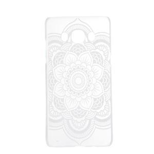 Transparentný plastový obal pre Samsung Galaxy J5 (2016) - krajková kvetina - 4