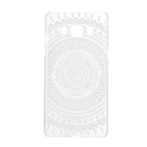 Transparentní plastový obal na Samsung Galaxy J5 (2016) - mandala - 4