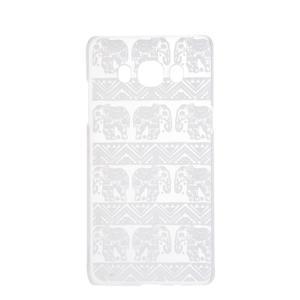 Transparentný plastový obal pre Samsung Galaxy J5 (2016) - slony - 4