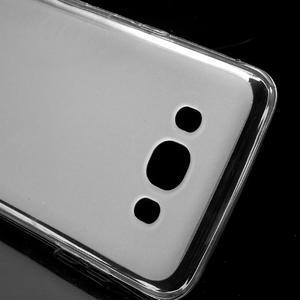 Oboustranně matný gelový obal na Samsung Galaxy J5 (2016) - bílý - 4
