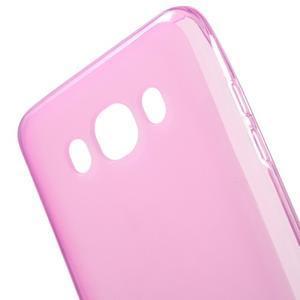 Oboustranně matný gelový obal na Samsung Galaxy J5 (2016) - rose - 4