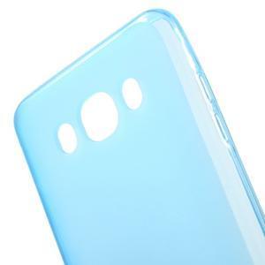 Oboustranně matný gelový obal na Samsung Galaxy J5 (2016) - modrý - 4