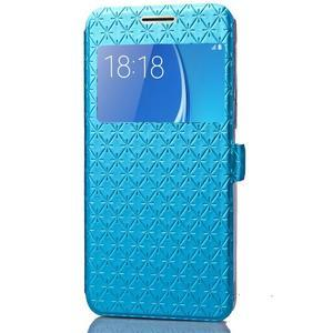 Stars pouzdro s okýnkem na mobil Samsung Galaxy J5 (2016) - modré - 4