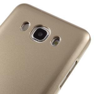 Newsets gélový obal pre Samsung Galaxy J5 (2016) - zlatý - 4