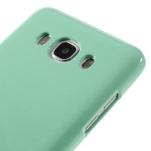 Newsets gelový obal na Samsung Galaxy J5 (2016) - cyan - 4