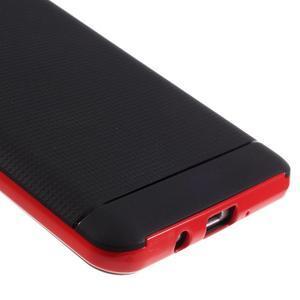 Hybridní obal 2v1 na mobil Samsung Galaxy J5 (2016) - červený - 4