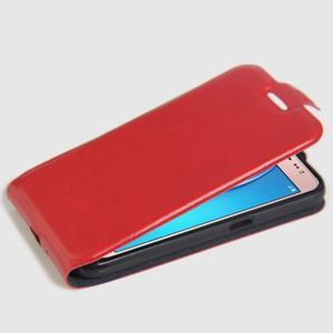 Flipové pouzdro na mobil Samsung Galaxy J5 (2016) - červené - 4