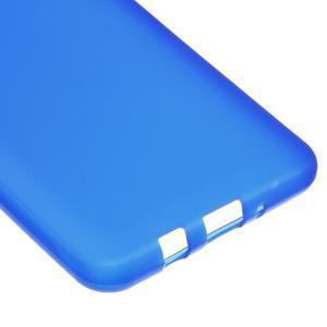 Matný gelový obal na Samsung Galaxy J5 (2016) - modrý - 4