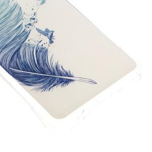 Antišok gelový obal na Samsung Galaxy J5 (2016) - ptačí peříčko - 4