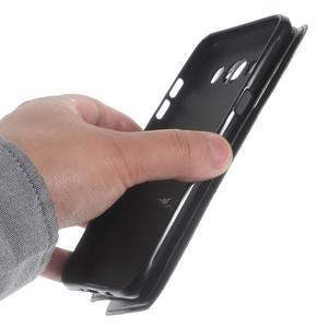 Royal pouzdro s okýnkem na Samsung Galaxy J5 (2016) - černé - 4