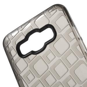 Square gélový obal pre Samsung Galaxy J5 (2016) - šedý - 4